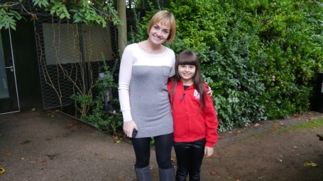 A pic of me with Charlotte Wakefield, who played Maria