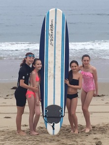 Pretty Outrageous The Movie 2016, The Girl Band surfing